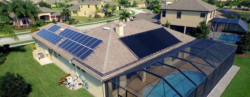 انواع گرمکن خورشیدی