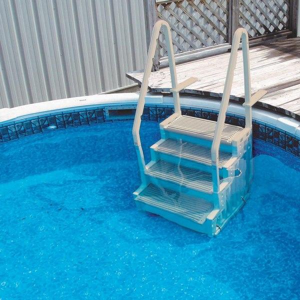 نردبان استخر Blue Wave